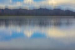 Impressionistic Lake Wild Horse Resevoir MG 3203 v1