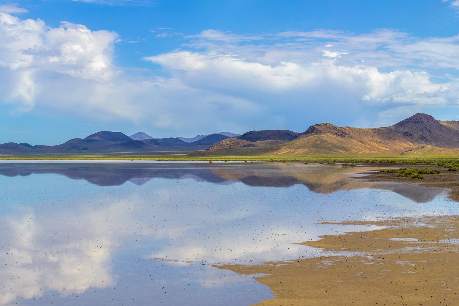Nevada Scenic Landscape Pano 1209 v2b Lunar Lake Vcnty Hwy 6