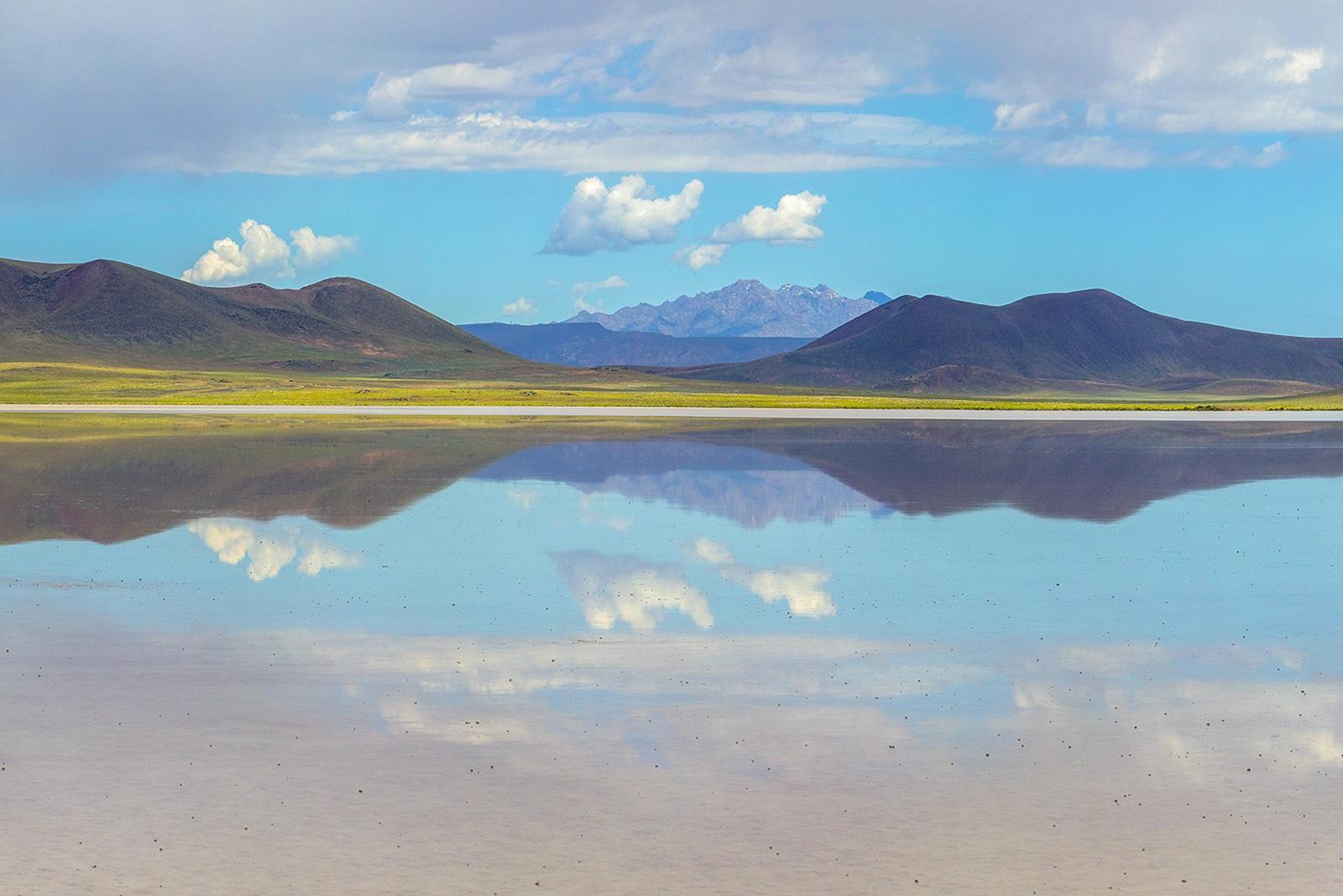 Nevada Scenic Landscape Pano 1252 v1 Lunar Lake Vcnty Hwy 6