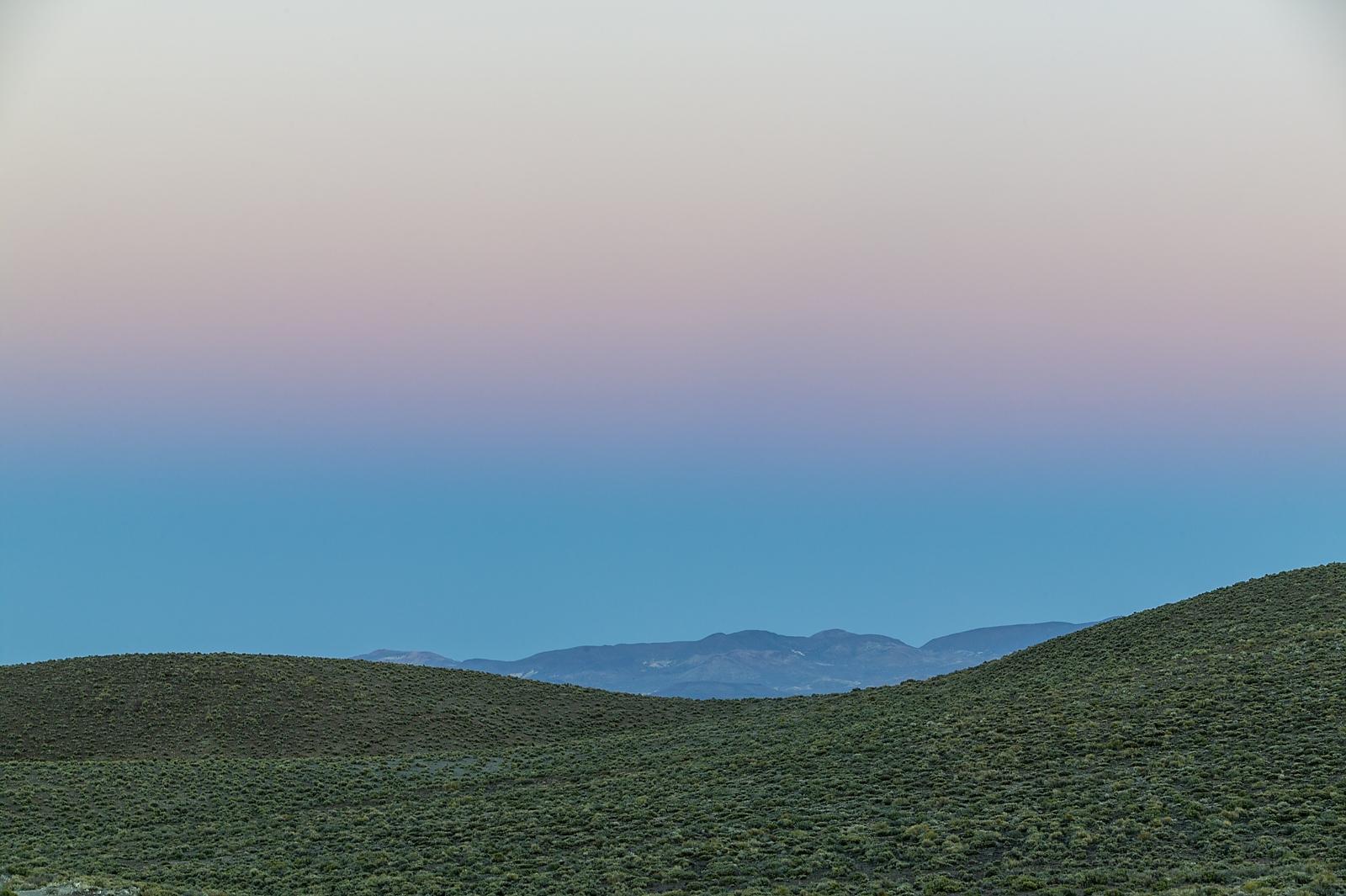 Nevada Scenic Landscape 806V6797 rte 264 Vcnty Boundry Peak