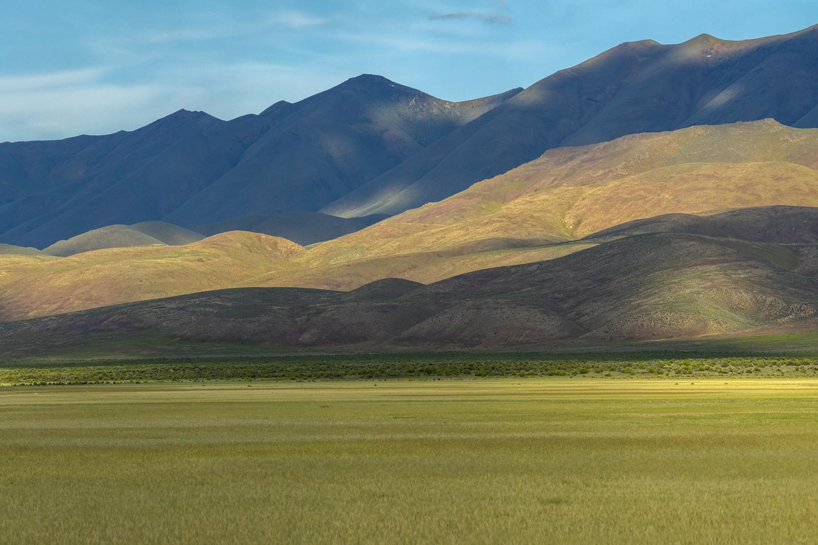 Nevada Scenic Landscape Pano 3366 v1 Carico Valley Vcty Rte 305