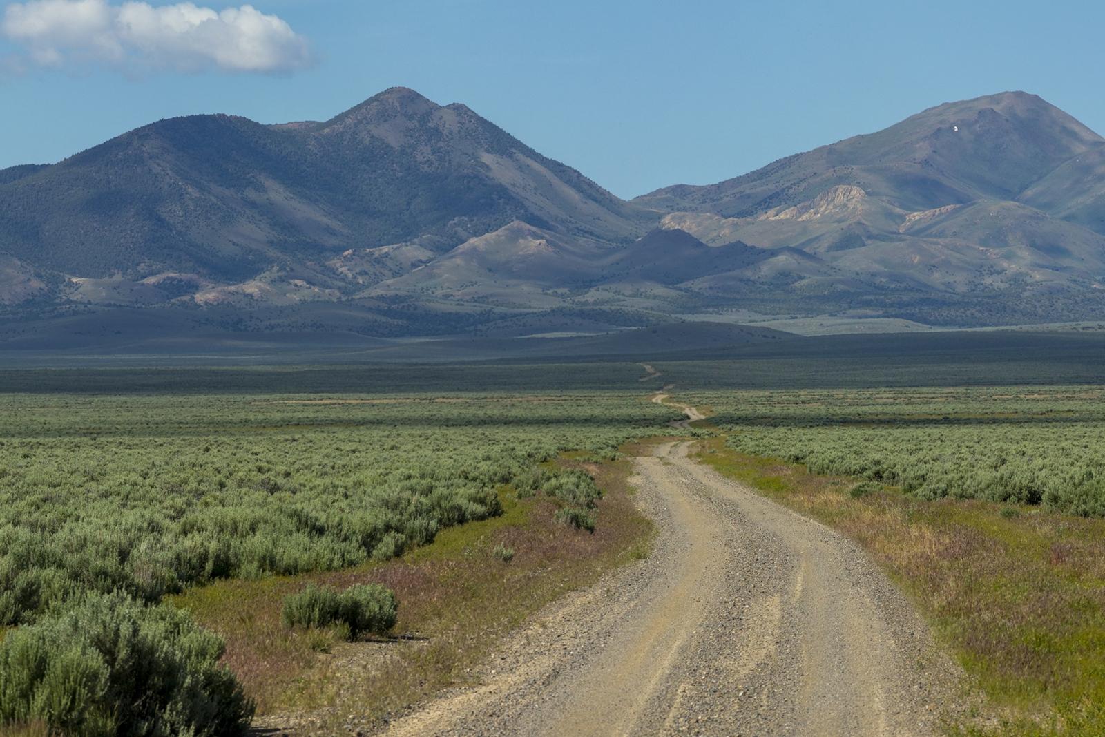 Nevada Scenic Landscape Pano 3501 v1 Lander County Rte 21