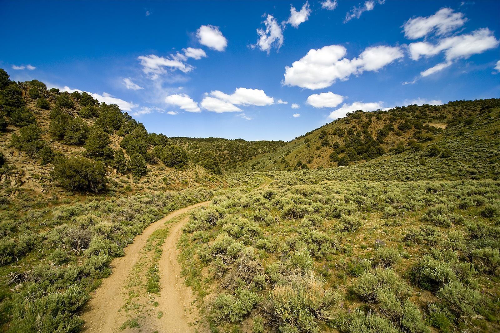 Nevada Scenic Landscape Q4G5246 v 2b  Gabbs Range