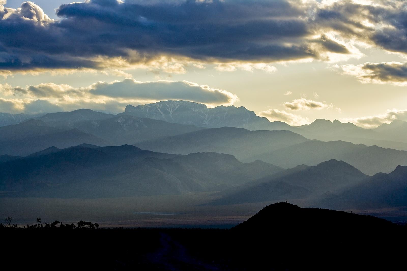 Nevada Scenic Landscape VQ4G2492 v2  Vcnty Corn Creek & Hwy 95