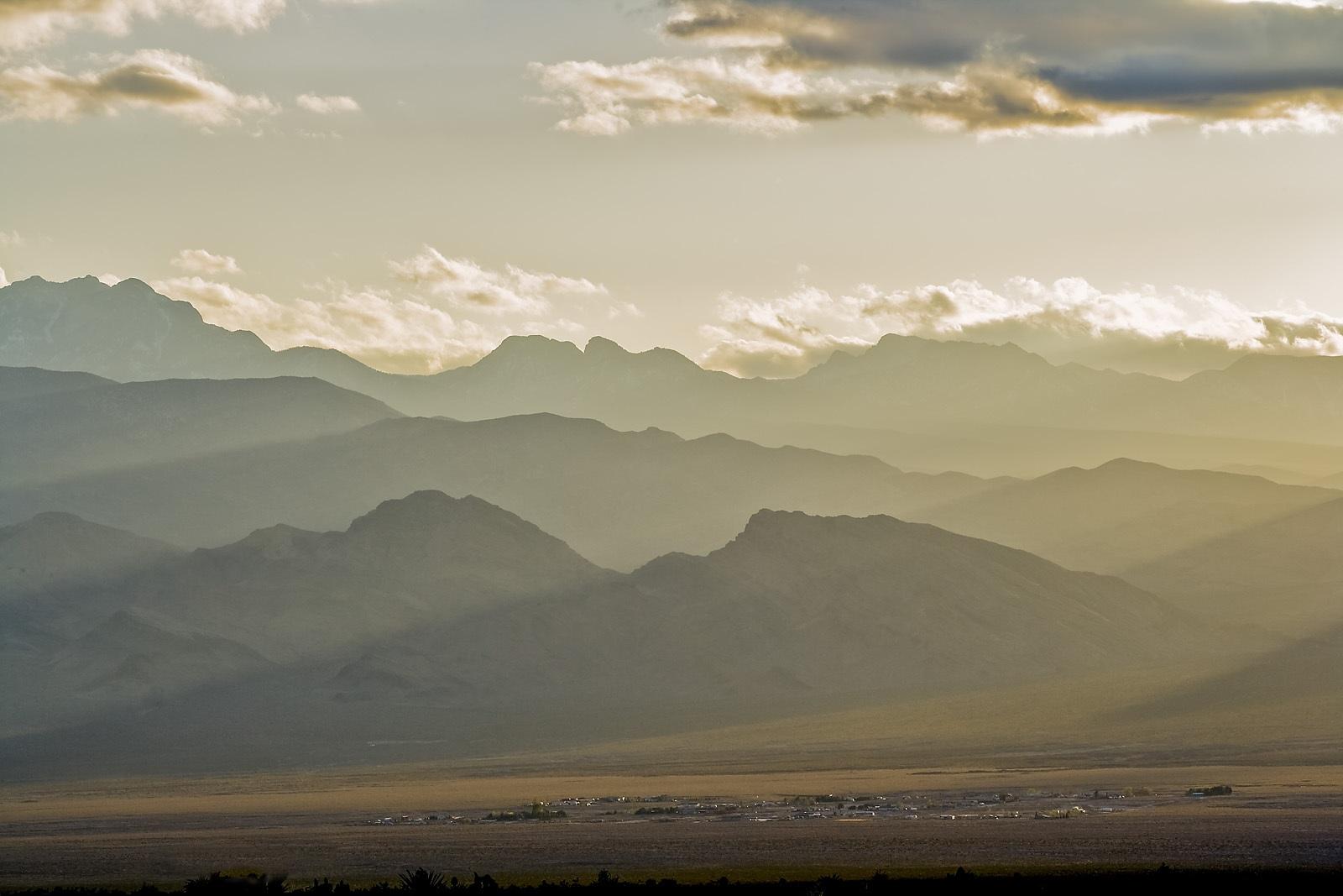 Nevada Scenic Landscape VQ4G2498 v2  Vcnty Corn Creek & Hwy 95
