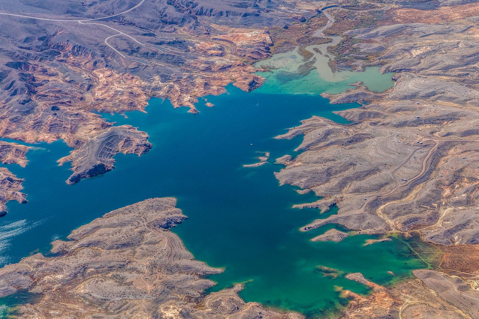 Lake Mead Aerial Landscape MG_7672